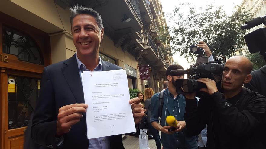 Xavier García Albiol sostiene la denuncia presentada contra Puigdemont