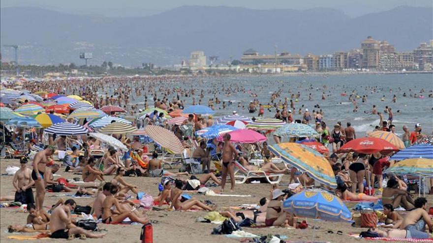 Las temperaturas veraniegas serán más altas de lo normal en el Mediterráneo