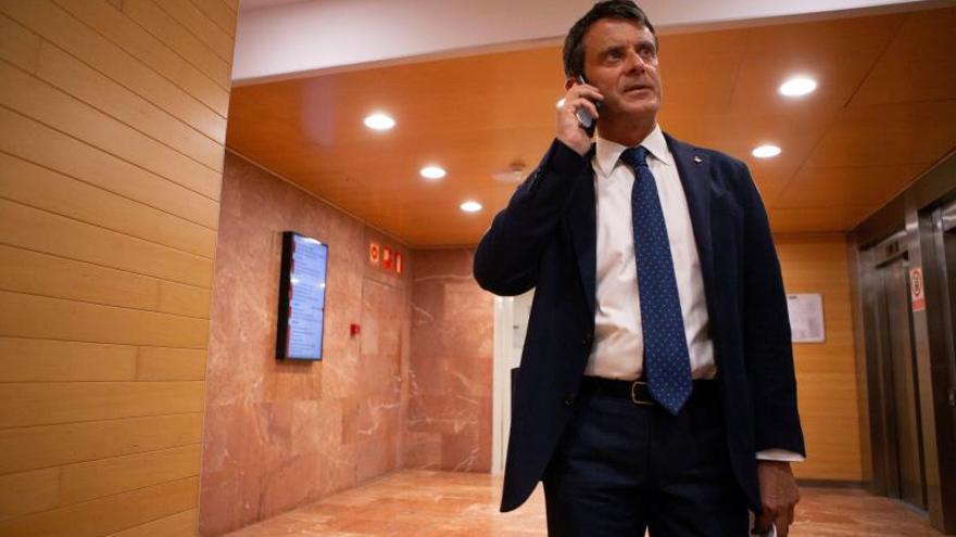 El concejal del Ayuntamiento de Barcelona Manuel Valls.