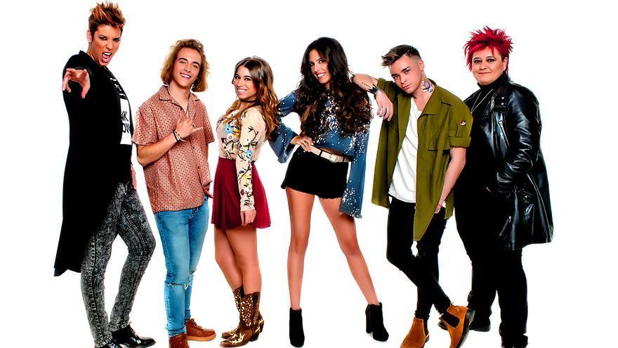 Los 6 candidatos de 'Objetivo Eurovisión' 2017