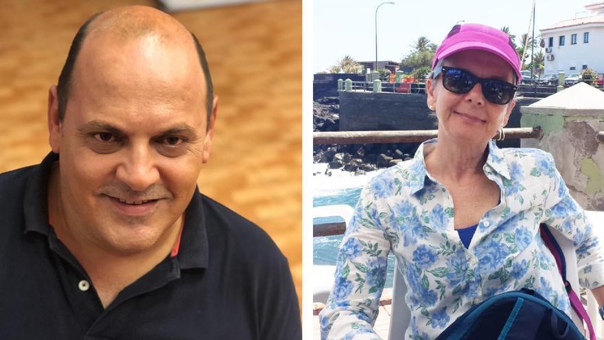 Teo Morales y Norma Vaira, candidatos en primarias de Los Realejos