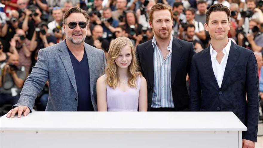 """Crowe y Gosling reparten risas y golpes como detectives en """"The nice guys"""""""