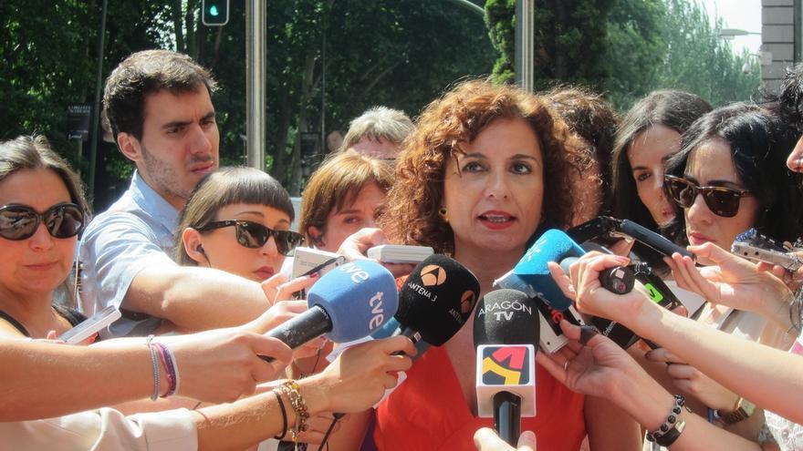 """Montero ve a Rajoy """"muy desafortunado"""" en sus críticas """"despectivas e intolerables"""" hacia Andalucía"""