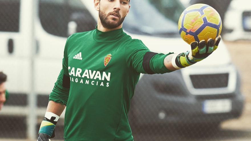 El portero del Real Zaragoza Álvaro Ratón, acusado de una agresión sexual / TWITTER