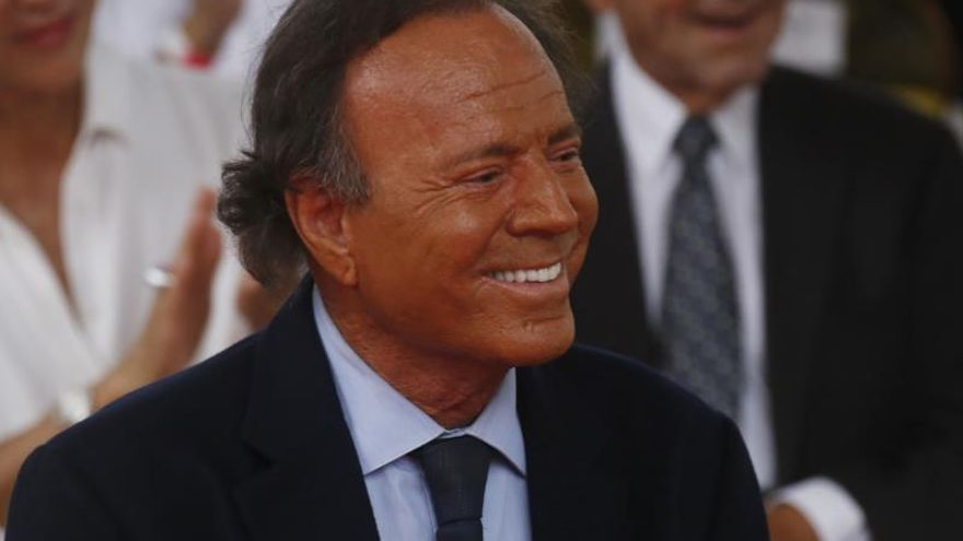 Julio Iglesias, en Fuengirola en agosto en el único concierto en España de la gira mundial