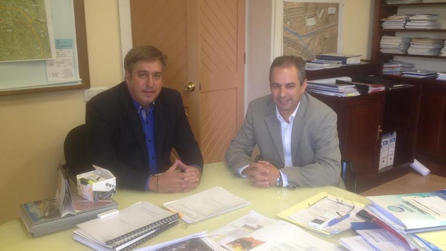 Jorge González y José Luis Delgado, consejeros de los cabildos de La Palma y Tenerife.
