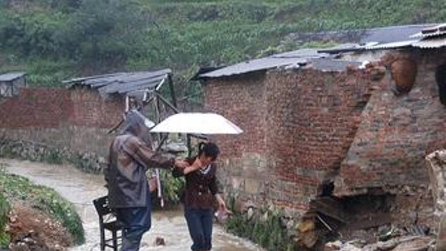 Lluvias en China. (EUROPA PRESS)