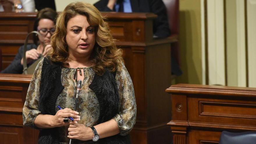 La consejera de Política Sociales y Vivienda, Cristina Valido.