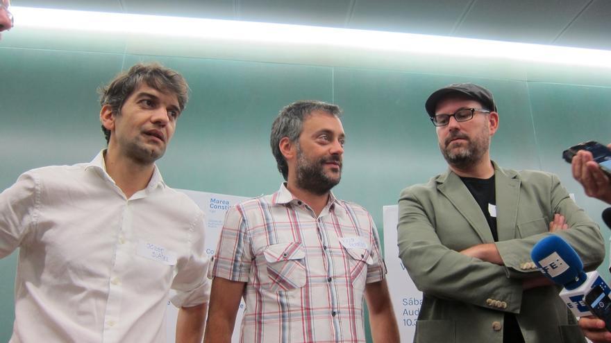 Alcaldes de las mareas gallegas esperan que Podemos se una y apuestan por un candidato de consenso, sin aclarar nombres