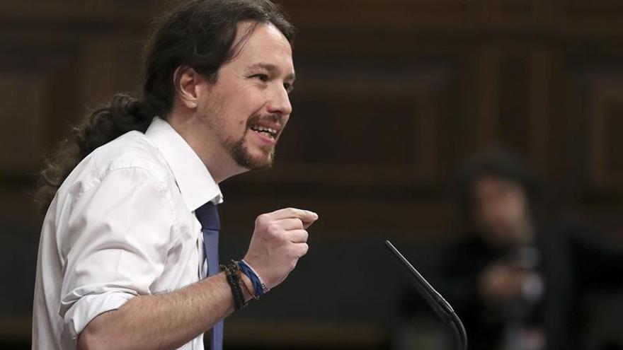 """Iglesias exige a Rajoy que aclare si los """"éxitos"""" de UE implican más recortes"""