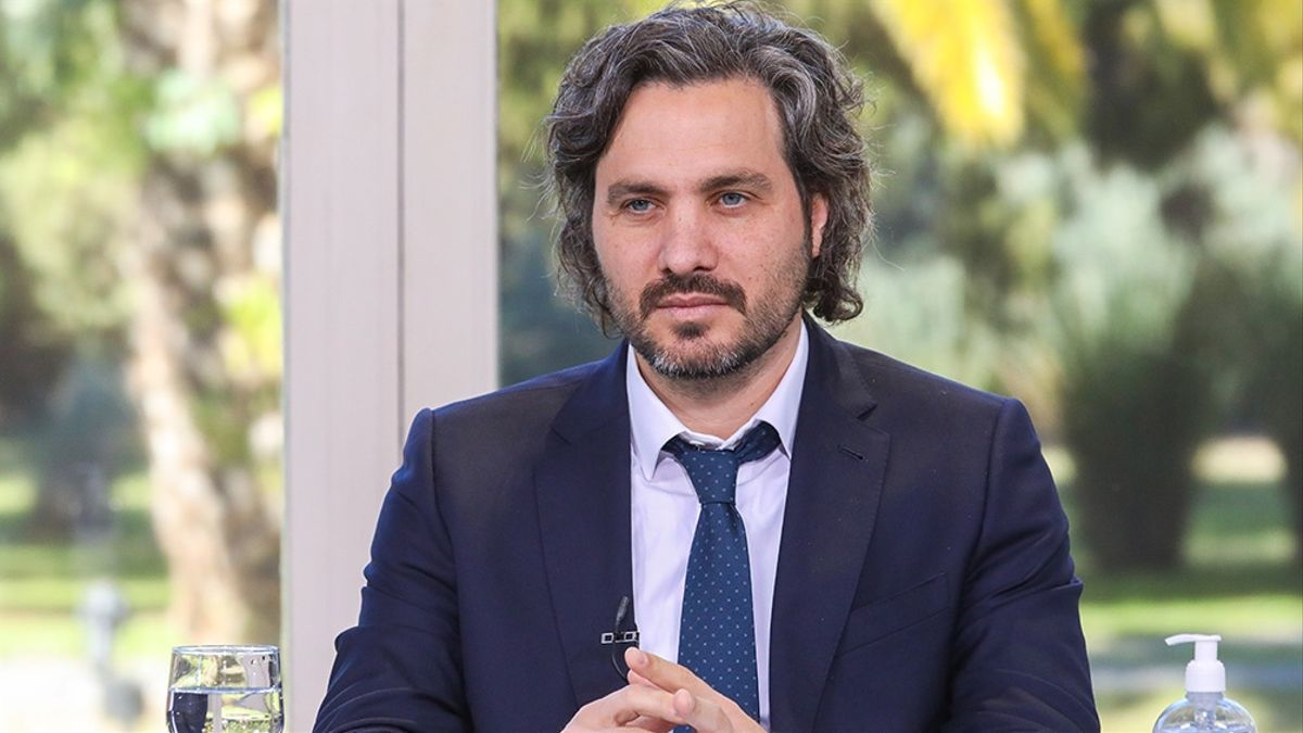 """Cafiero ratificó que el Gobierno nacional está """"muy conforme y en el camino correcto"""" con respecto al plan de vacunación"""