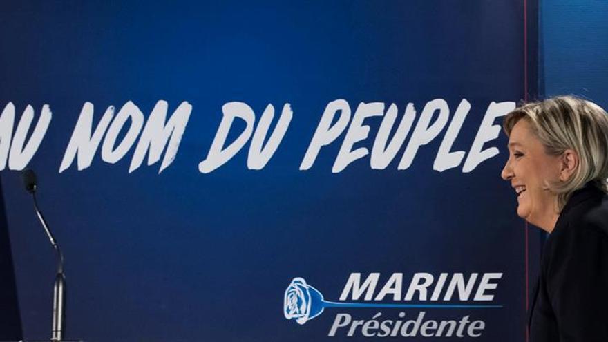"""Le Pen asegura estar """"preparada y organizada"""" para llegar al Elíseo"""
