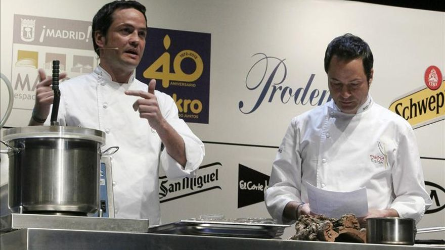 """Javier y Sergio Torres cocinarán """"A cuatro manos"""" en televisión"""