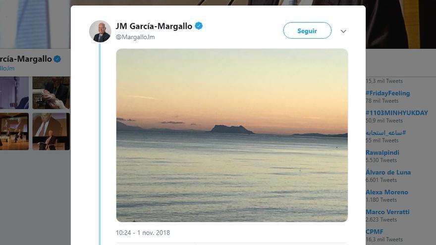 El tuit de García Margallo