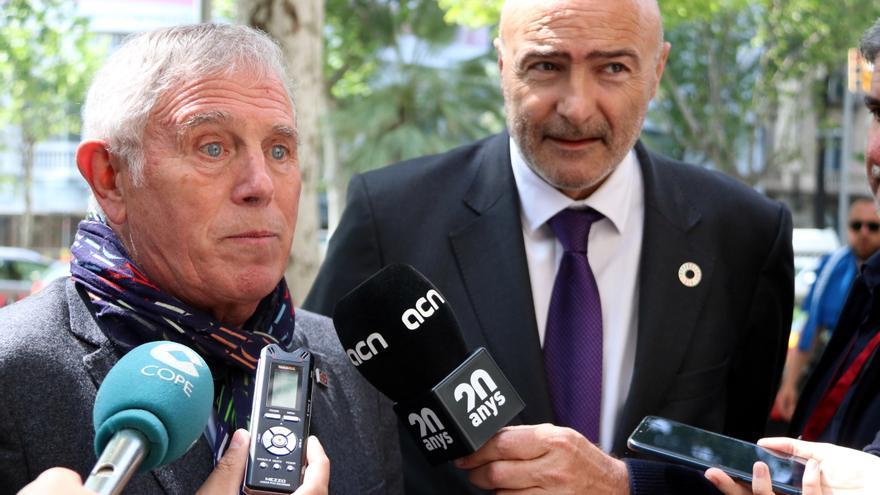 Enric Crous (izquierda) y José María Torres, miembros de la candidatura avalada por PIMEC.