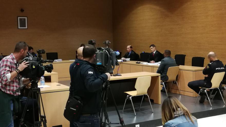 Juicio contra Yassin O. en la Audiencia de Las Palmas