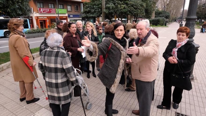 Igual anuncia la mejora de la jardinería en la Alameda de Oviedo