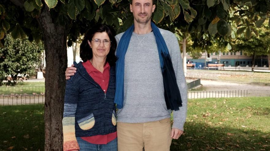 Loïc Alejandro y Carmen Molina, coportavoces de Equo.