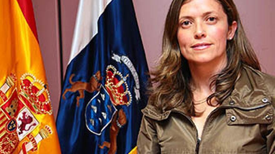 Lourdes Quesada, secretaria general del Servicio Canario de la Salud.
