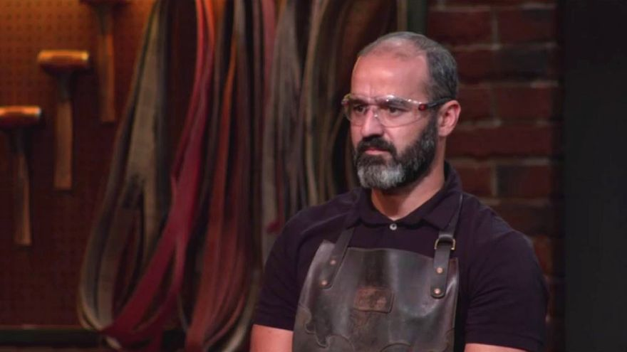 El español Miguel Barbudo en la final de 'Forjado a fuego'