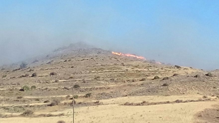 Infoca da por extinguido el incendio del Pozo de los Frailes en el Parque de Cabo de Gata-Níjar