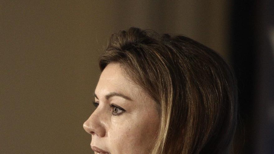 """Cospedal dice que la salida de Vidal-Quadras del PP es una """"decisión personal"""""""