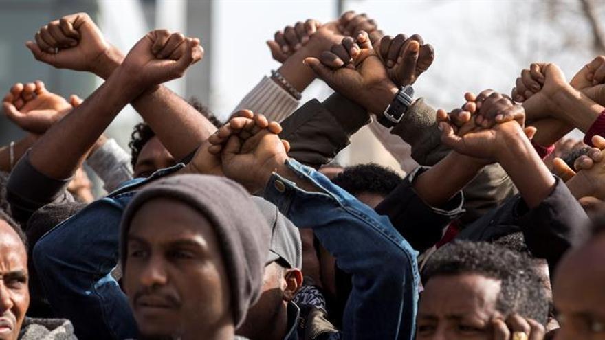 Católicos, rabinos y HRW denuncian el plan israelí de deportación de africanos