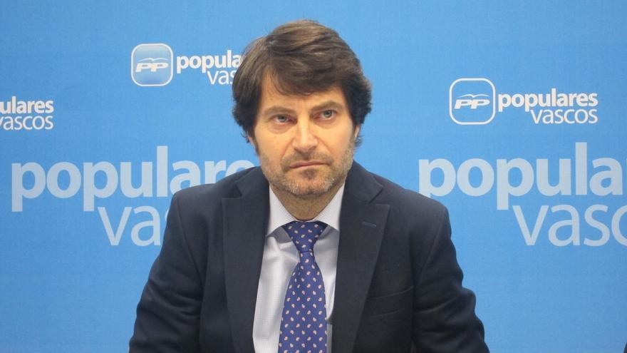 """Ruiz (PP) defenderá un proyecto """"transversal"""" que aglutine a """"diferentes sensibilidades"""" y sea alternativo al de PNV"""