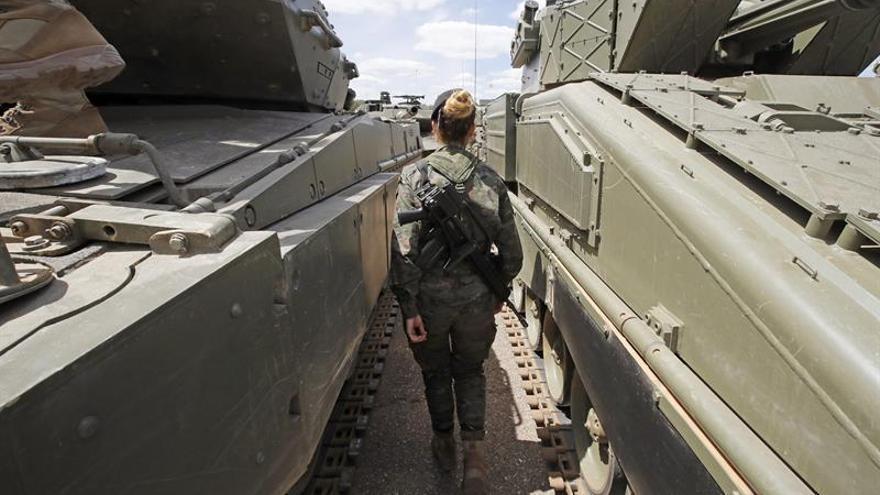 300 militares españoles vigilarán con la OTAN desde Letonia la amenaza rusa
