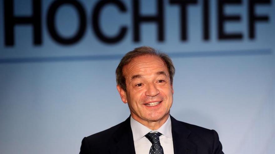 Hochtief gana hasta marzo 128 millones, un 30,7 % más, apoyada en Abertis