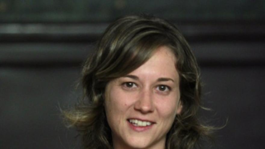 La portavoz de IU en el Parlamento Europeo, Marina Albiol. / Marta Jara