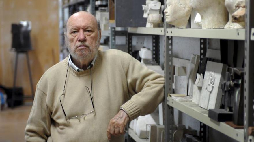 Muere a los 91 años el escultor José Luis Sánchez, pionero de la abstracción