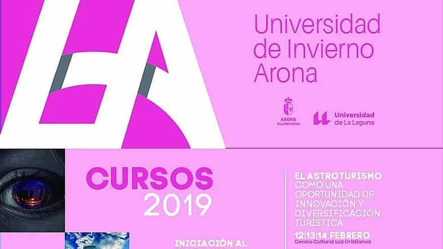 Programa de los cursos de febrero y marzo de 2019, amparados por la ULL