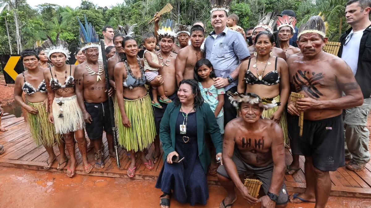 La foto que subió Jair Bolsonaro a Twitter