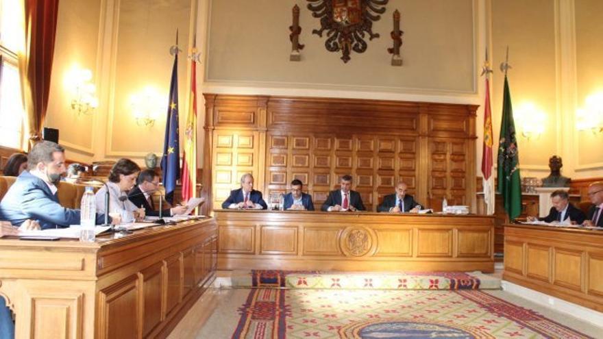 Pleno de la Diputación de Toledo