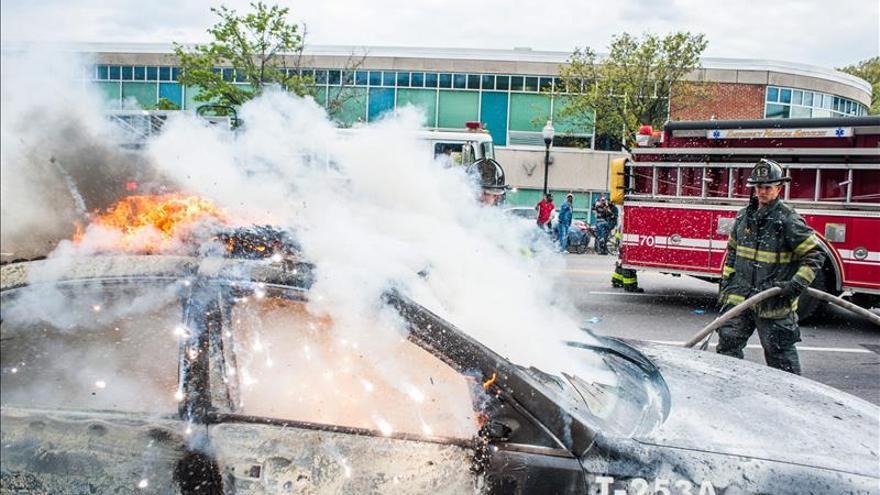 Declaran el estado de emergencia en Baltimore por protestas contra la Policía