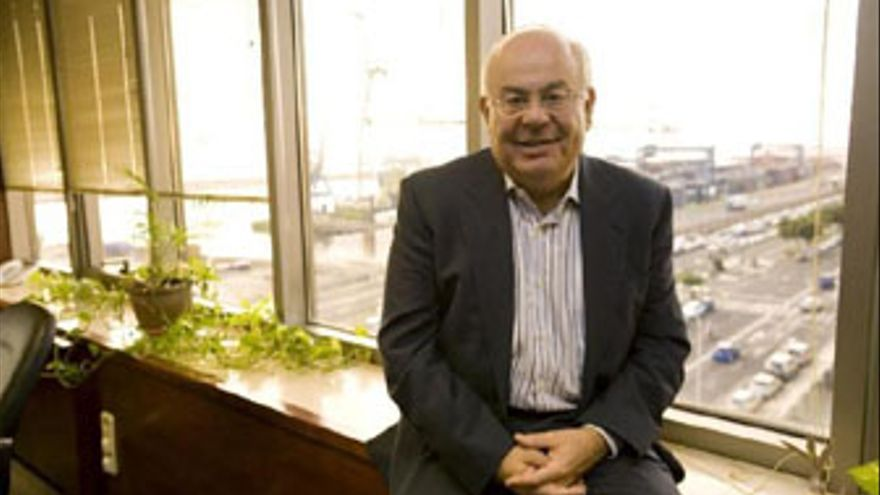 El presidente de la Zona Especial Canaria (ZEC), Juan Alberto Martín. (FOTO CEDIDA A EP)