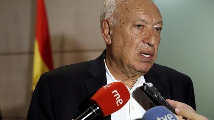 Margallo: la comunidad internacional no está a la altura en Siria