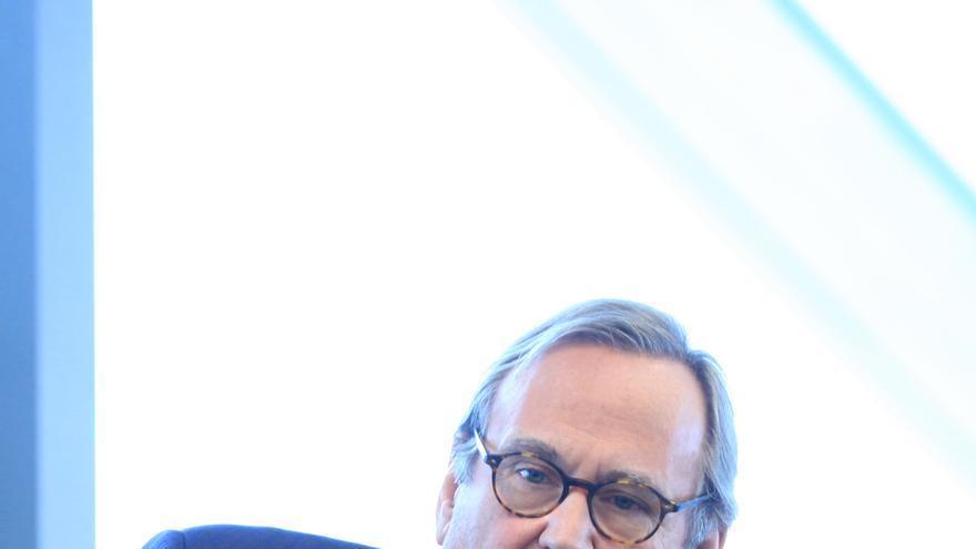 El periodista y empresario Antonio Navalón, en una conferencia en México \ EFE / Mario Guzmán