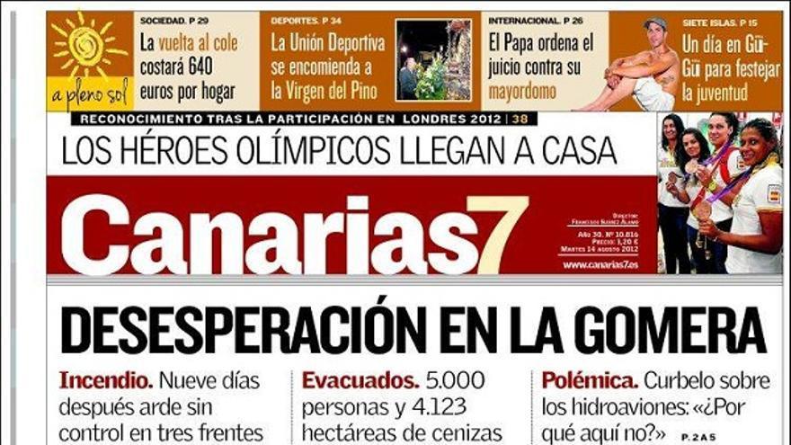 De las portadas del día (14/08/2012) #2