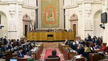 El 'plan renove' del Parlamento andaluz incluye casi dos tercios de 'caras' nuevas