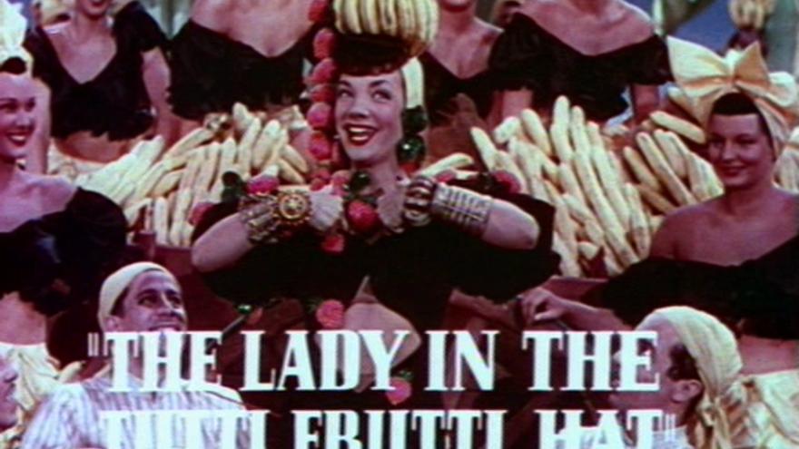 Carmen Miranda inspiró a su tocaya Sandiego (Imagen: Wikipedia)