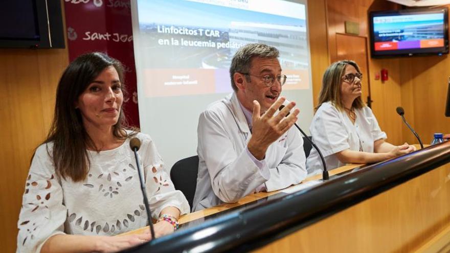 Los responsables del tratamiento en el Hospital Sant Joan de Déu de Esplugues de Llobregat