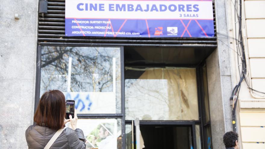 El barrio interesado ante la próxima apertura de los Cines Embajadores