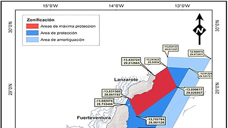 Propuesta del LIC de la Sociedad para el Estudio de los Cetáceos en el Archipiélago Canario (SECAC).