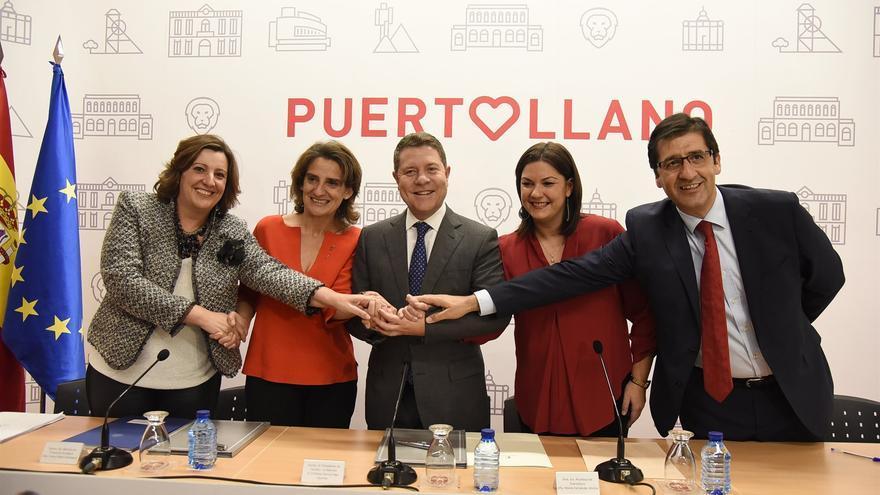 Firma del convenio en Puertollano