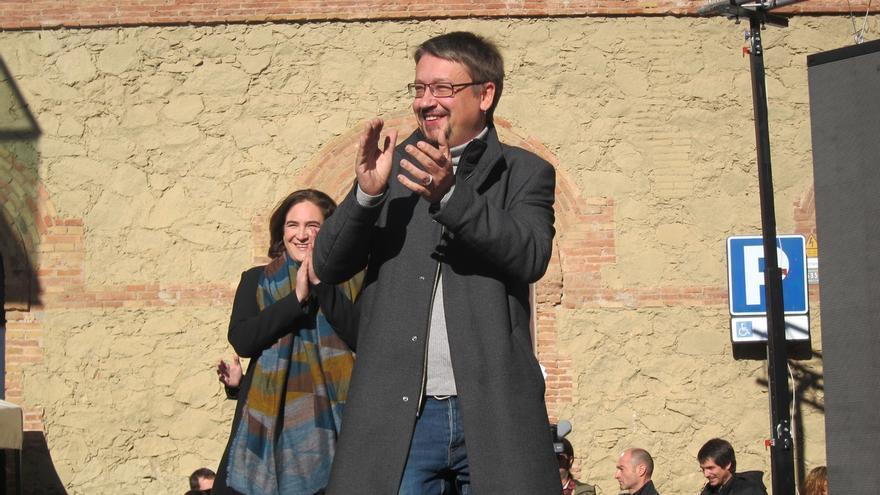 """Domènech dice que una mayoría progresista y de izquierdas suma """"más del 50%"""""""