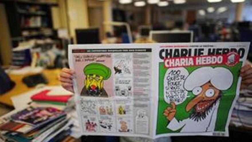 La edición dedicada a Mahoma. (REUTERS)