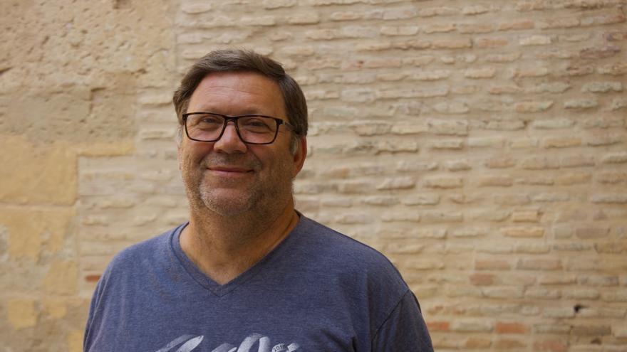 Joaquín Sánchez, `el cura de la PAH´ / E. R.