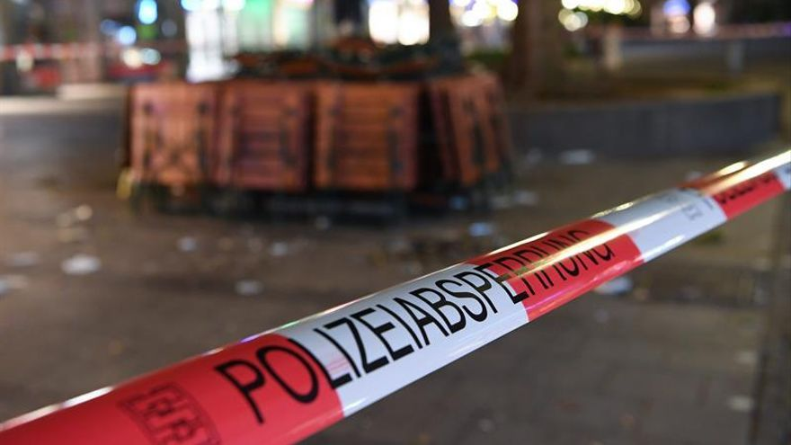 Los artificieros analizan en Múnich una mochila hallada junto a un cadáver